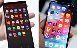iPhone Xs Max与Galaxy Note 9大比拼
