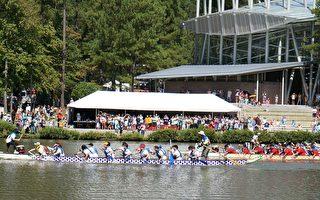 飓风后三角区龙舟节登场 7000游人共乐