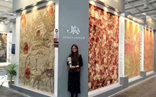 国际大奖设计师作品 墨尔本手工真丝羊毛地毯年度大酬宾