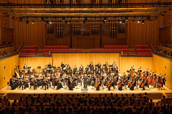2018年9月14日晚,神韵交响乐团于屏东演艺厅举行演出