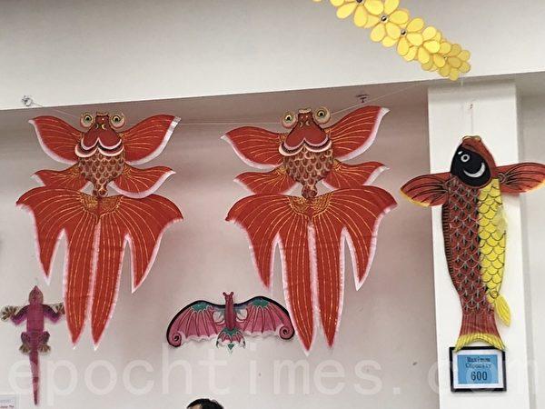 民俗彩绘 旧金山南湾举办最酷风筝节