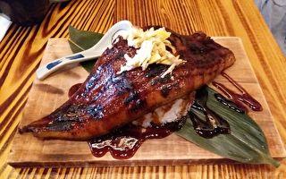 日式居酒屋巨型炭火烧鳗鱼饭