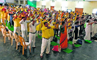 印度媒体:成千上万人炼法轮功 深受裨益