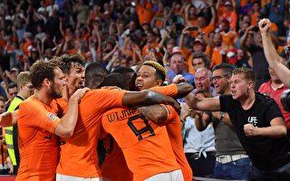 荷兰击败德国终结尴尬 意大利送波兰降级