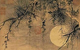 畫中賞月  三幅月亮名畫清澈人間
