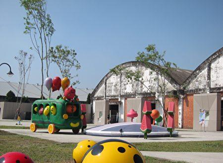 台糖縣民公園命名為「阿猴1909綠水園區」,15日正式開園。