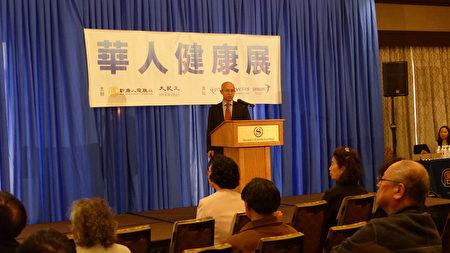 哥伦比亚大学医学院助理教授邓长春博士讲解血液癌症。