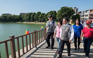八德区2-1埤塘景观美化  转型为埤塘生态公园