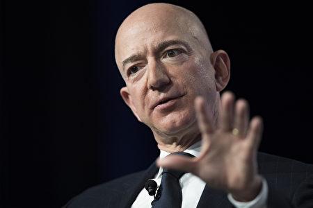 亚马逊执行长贝佐斯(Jeff Bezos)。图为资料照。