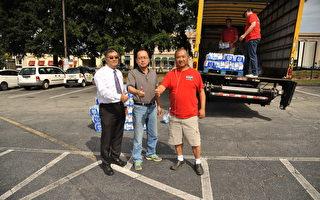 喬州南部遭颶風襲擊  華裔慷慨捐水相助