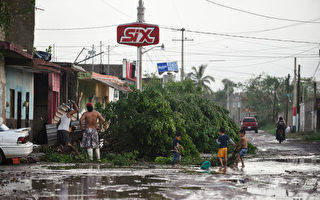 風暴襲墨西哥 東北太平洋創最多颶風紀錄