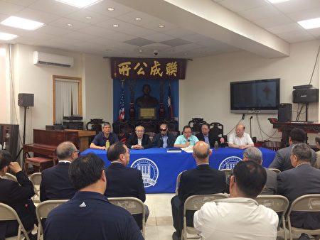 聯成公所開議員大會,解決最近再次出現的人事糾紛一事。