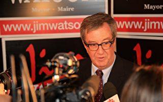 2018渥太华市政选举: 沃森三度连任市长