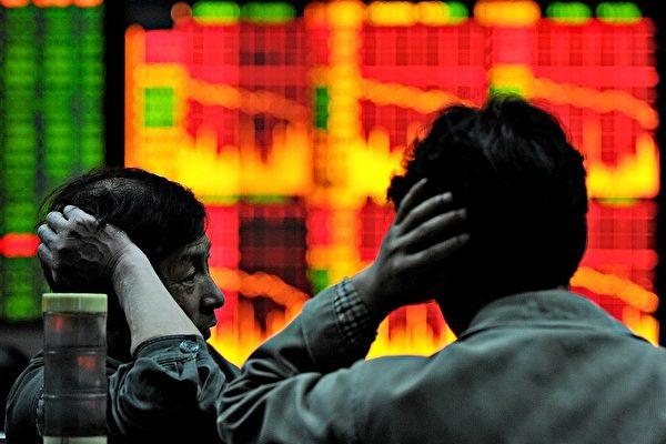 中國股市讓投資者焦慮。(AFP/PHILIPPE LOPEZ)