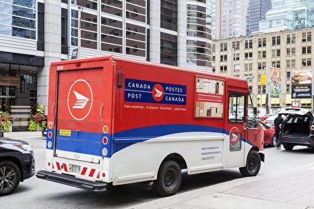 因劳资纠纷,加拿大邮政局将于近日起罢工。(Shutterstock)