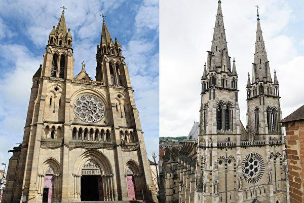 法國最有名新哥特式建築 穆蘭聖心教堂