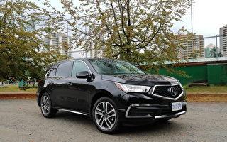 车评:经济七人SUV 2018 Acura MDX