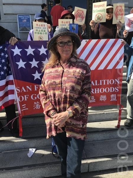 选战关键时刻 旧金山社区力挺反大麻候选人