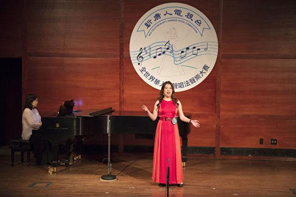 新唐人第七届全世界华人美声唱法声乐大赛11月8日初赛(摄影:张学慧/大纪元)