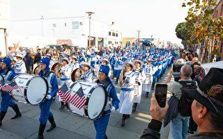 舊金山老兵節遊行  天國樂團獲觀眾喜愛