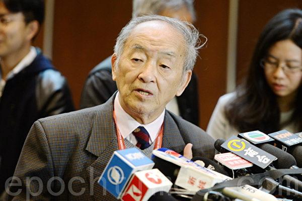 中国生命伦理学专家邱仁宗认为官方应调查贺的研究资金来源。(宋碧龙/大纪元)