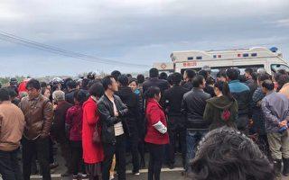 湖北上萬民眾抗議建垃圾焚燒場 遭警方鎮壓