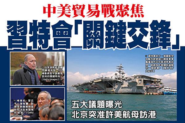 """中美贸易战聚焦 川习会""""关键交锋"""""""