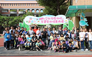世贤国小师生创作交趾陶装置艺术成果发表