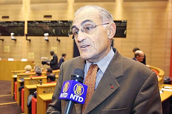 天主教反酷刑与死刑组织(ACAT)荣誉主席 Guy Aurenche先生接受采访(新唐人)