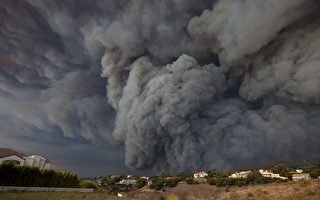 大火肆虐加州 至少9死 25万人紧急疏散