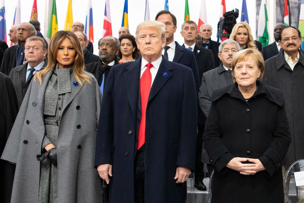 組圖:世界領袖聚巴黎 紀念一戰停戰百年