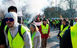 油价高居不下 法国24万人街头抗议 1死多伤