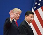 11月1日,川普(特朗普)总统发推,说与习近平主席进行了长时间的良好通话。主要商讨中美贸易问题。(NICOLAS ASFOURI/AFP/Getty Images)