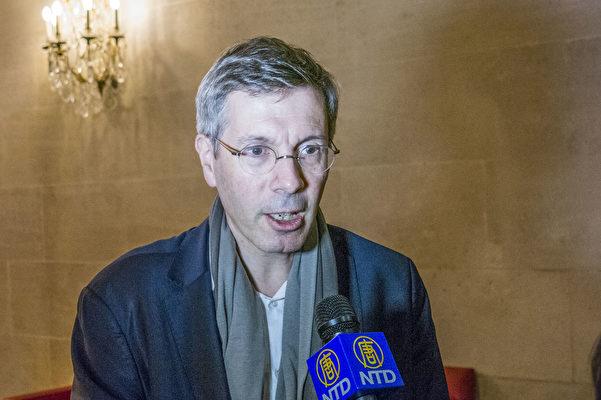 法国外交部人权大使 François Croquette先生接受采访(关宇宁/大纪元)
