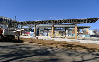 堪京一期轻轨轨道铺设完工 明年初有望运营