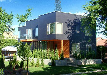 郝传东的建筑设计,凸显建筑与自然的融合。