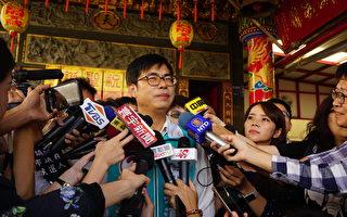 辩论会上拥抱韩国瑜 陈其迈:用爱包容刺刀