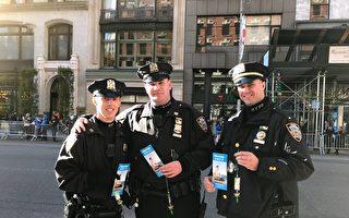 紐約退伍軍人節遊行 法輪功隊伍受歡迎