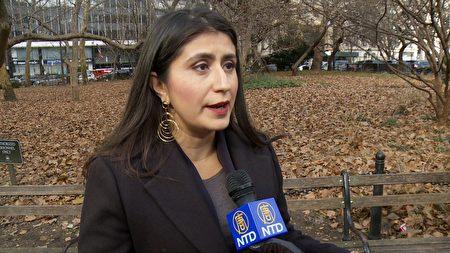 候任紐約州參議員 Jessica Ramos表示,亞馬遜將來到紐約,交易必須確保他們尊重員工。