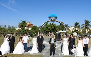 浪漫高跟鞋教堂  打造全台大型婚礼体验营