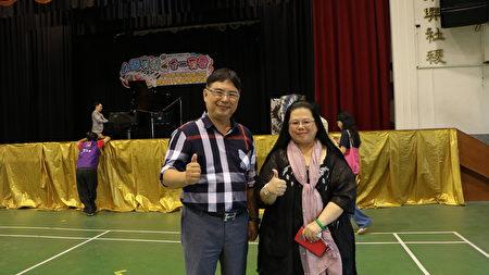 低調做事,謙卑做人,慈善公益的林怡華(左)及熊千綺賢伉儷。