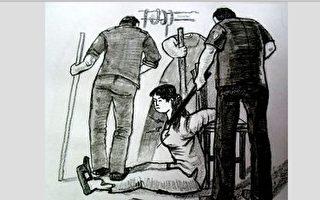 女警叫嚣不怕下十八层地狱 殴打69岁老人