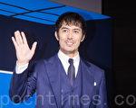 日本男星阿部寬訪台資料照。(陳柏州/大紀元)