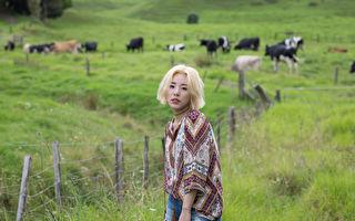 韩国人气女团MAMAMOO成员丁辉人。