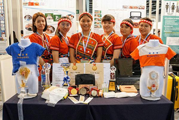 香港發明展 台灣代表團奪28金總成績第一