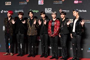 BTS防弹少年团出席2018 MAMA香港场