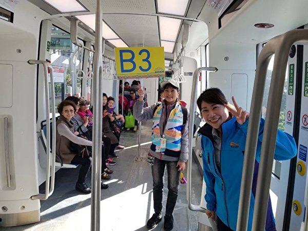 北台湾首条淡海轻轨将上路 每15分钟一班车