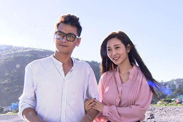 曾莞婷(右)首次搭檔陳冠霖(左)擔綱演出八點台劇《炮仔聲》