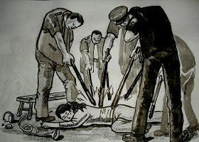 中共惨绝人寰的性迫害(4) 下身被刷烂