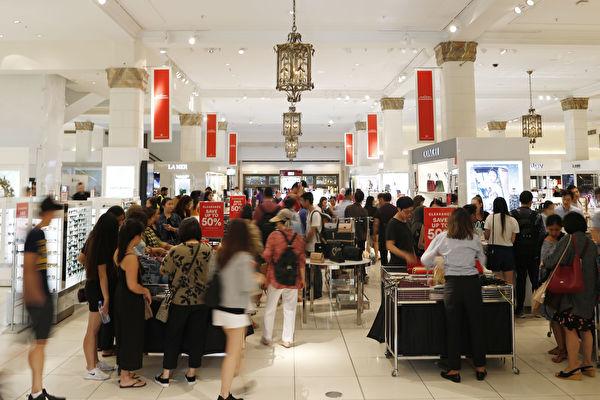 悉尼節禮日澳洲人購物